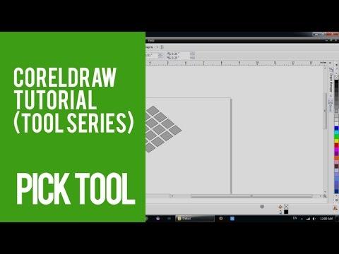 Pick Tool - Làm quen với Pick Tool trong CorelDraw (Phần 1)