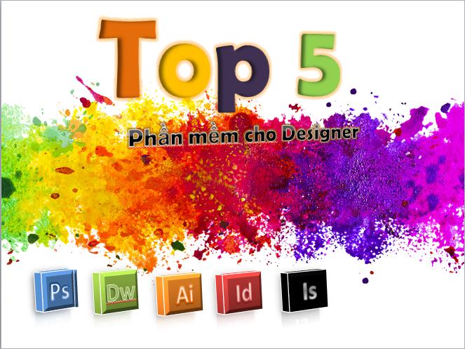 Top 5 phần mềm hay dùng miễn phí cho dân thiết kế đồ họa