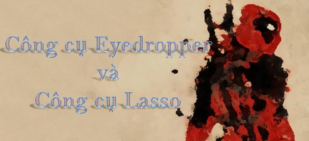 Illustrator - Hướng dẫn dùng công cụ Lasso và Eyedropper