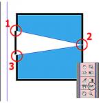 Scissors Tool – Công cụ kéo giúp cắt đối tượng trong Adobe InDesign.
