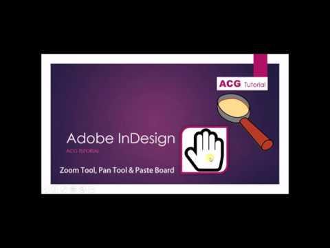 Zoom Tool trong Indesign- Công cụ thu phóng đối tượng trong ID