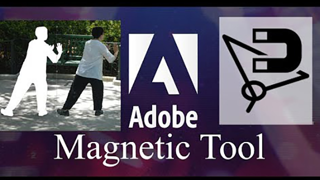 Magnetic Lasso Tool - Sử dụng  Magnetic Lasso Tool trong photoshop