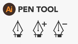 Pen Tool trong illustrator