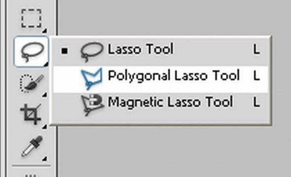 Polygonal Lasso Tool - Sử dụng Polygonal Lasso trong photoshop