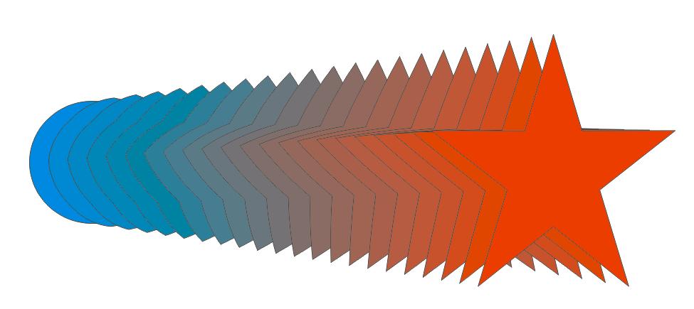 Blend Tool trong CorelDraw - Hướng dẫn tìm hiểu Blend Tool.