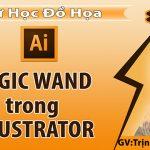 Magic Wand Tool trong Illustrator – Sử dụng Công Cụ Magic Wand