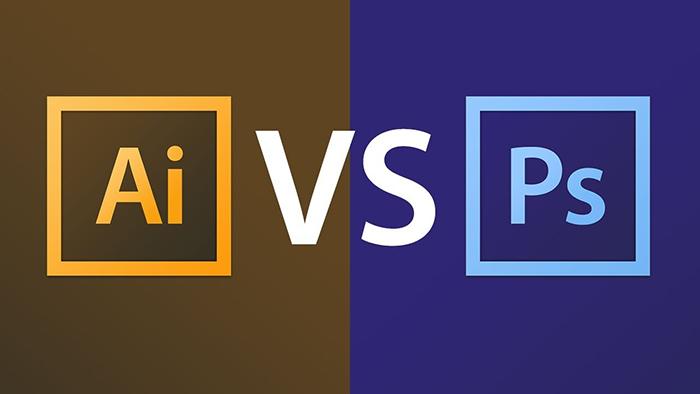 Nên học photoshop hay illustrator - So sánh Photoshop và illustrator
