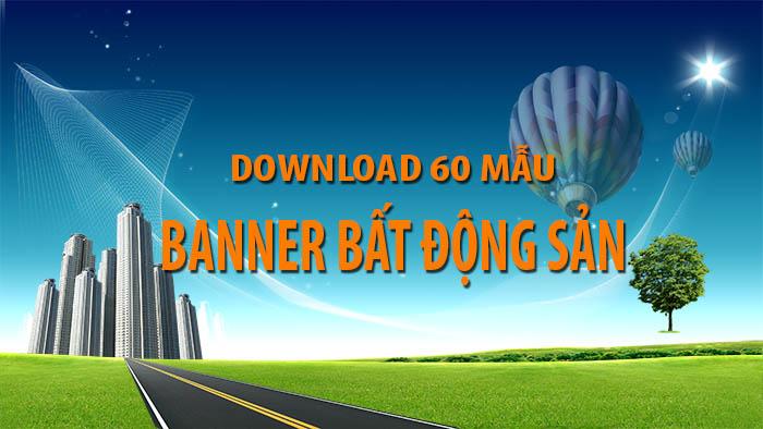 Banner bất động sản - Download 60 mẫu banner bất động sản đẹp