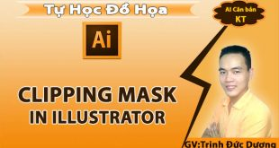 Clipping Mask trong illustrator