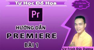 Hướng dẫn sử dụng premiere