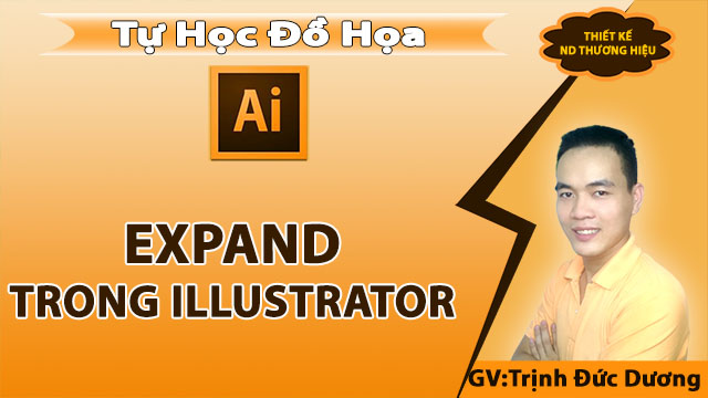 Expand trong Illustrator - Ứng dụng của Expand trong Illustrator