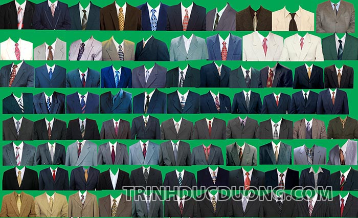 Mẫu áo vest nam ảnh thẻ [PSD] - Download 100 mẫu áo ảnh thẻ