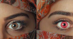 đổi màu mắt