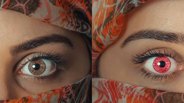 Đổi màu mắt trong photoshop - Cách đổi màu mắt đơn giản