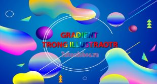 gradient trong illustrator