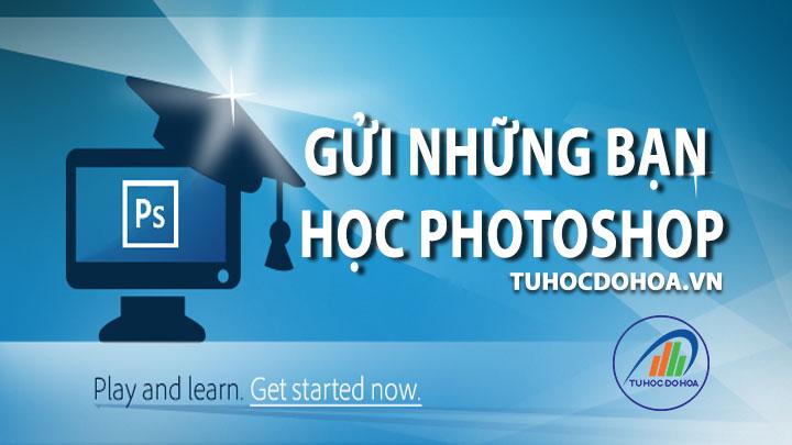Cách Học photoshop - Phương pháp học Ps cho người bắt đầu