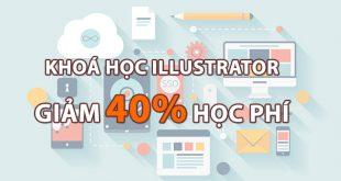 khoá học illustrator cc2019