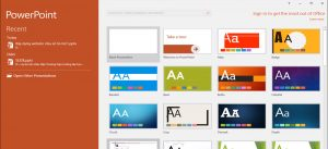 Giao diện powerpoint