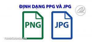Định dạng ảnh jpg, và png