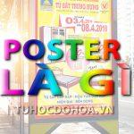 Poster là gì? Poster và những điều cần biết về Thiết kế Poster
