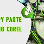 Nhân bản đối tượng trong Corel – Cách coppy paste đối tượng