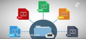 định dạng video trong cách xuất video