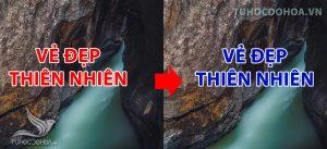 Cách Đổi màu chữ bằng photoshop