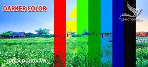 Chế độ hoà trộn Darker Color trong photoshop