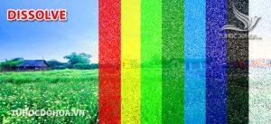 Chế độ hoà trộn Dissolve trong photoshop
