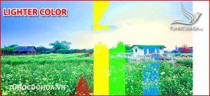 Chế độ hoà trộn Lighter Color Trong photoshop