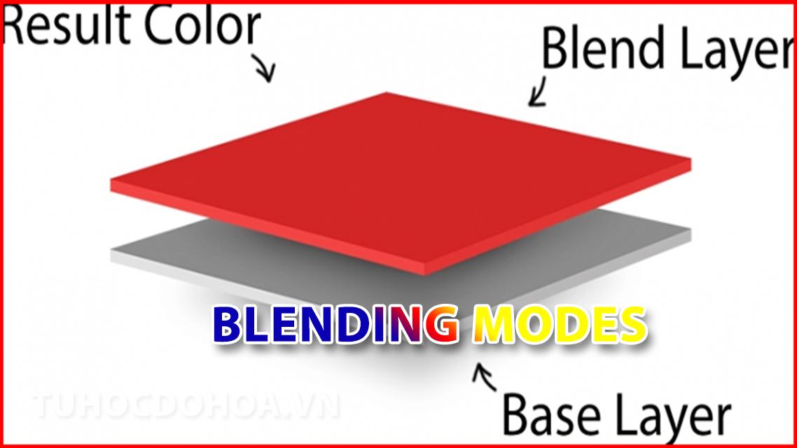 Chế độ hoà trộn trong photoshop - Blending mode trong PS