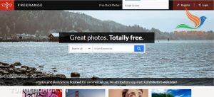 Freerangestock trang Web ảnh chất lượng cao miễn phí