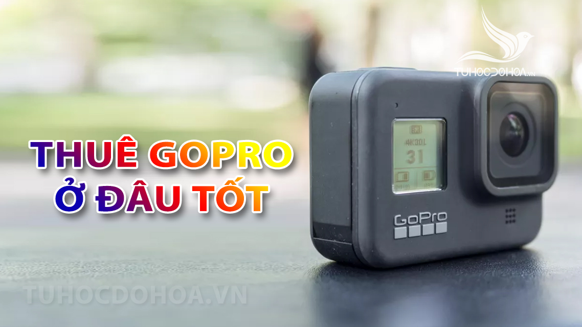 Thuê Gopro ở đâu tốt - Thuê Gopro ở đâu giá rẻ, dịch vụ tốt nhất
