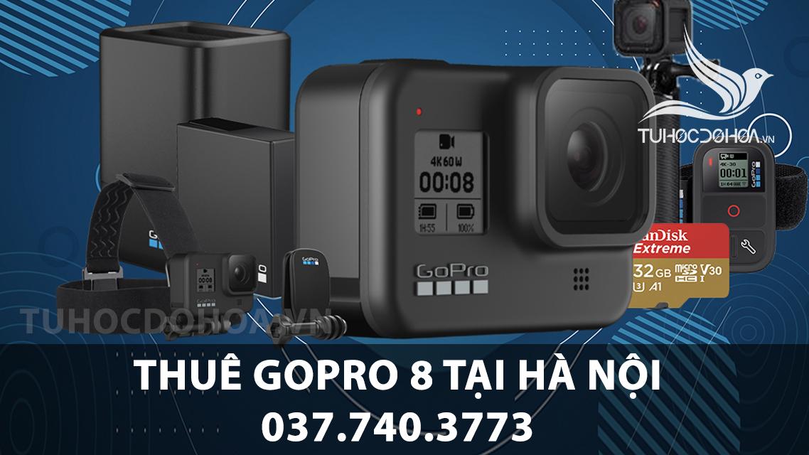 Thuê Gopro tại Hà Nội - Cho thuê gopro 9, 8 giá rẻ nhất Hà Nội
