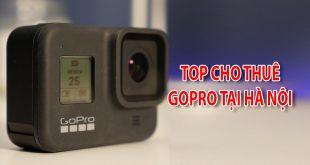 Top cho thuê Gopro