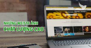Web ảnh chất lượng cao