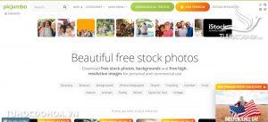 Picjumbo Web ảnh chất lượng cao và stock miễn phí