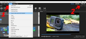 lựa chọn cách xuất video trong proshow produce