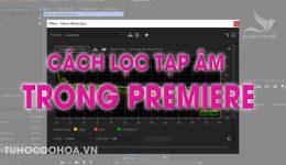Cách lọc tạp âm trong premiere - Loại bỏ tạp âm trong video