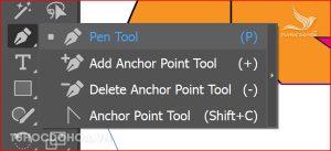 Công cụ pen Vẽ lại hình bằng Illustrator
