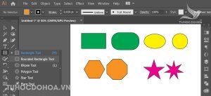Công cụ Vẽ lại hình bằng Illustrator