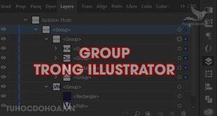 Group trong illustrator