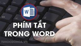 Phím tắt trong Word, Tổng hợp 500 Phím tắt dùng trong Word