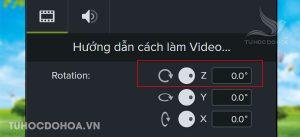 Cách 2 Xoay video thông qua bảng Properties