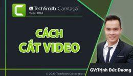 Cách cắt video bằng Camtasia 9 đơn giản cho người mới bắt đầu