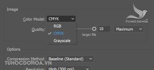 Cách chuyển Hệ màu trong Illustrator thế nào