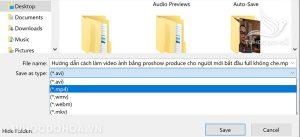 Cài đặt cách xuất video trong Activerpresenter