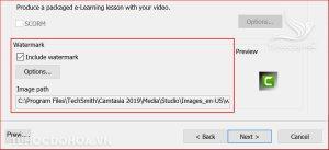 Chèn logo vào video trong camtasia
