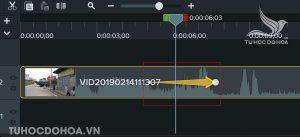 Đặt thời gian diễn ra hiệu ứng phóng to thu nhỏ video