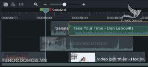 Hướng dẫn sử dụng Camtasia chèn nhạc vào video